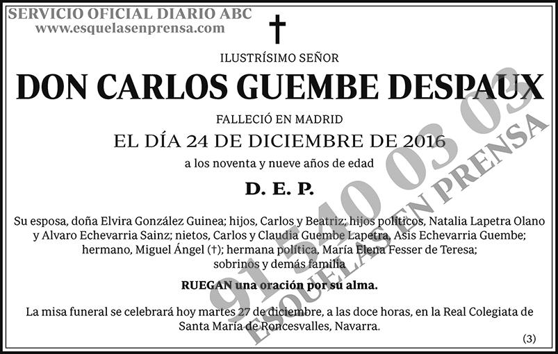 Carlos Guembe Despaux